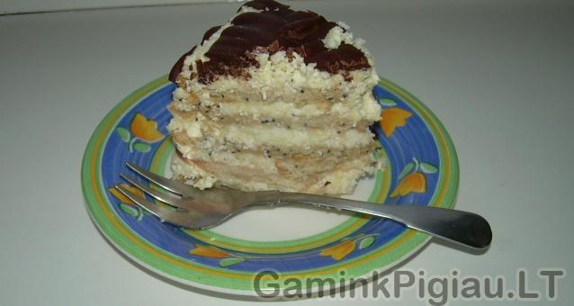 Sausainių tortas
