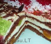 Greitas tortas su Maskarponės sūriu
