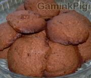 Sausainiai su šokolado gabalėliais