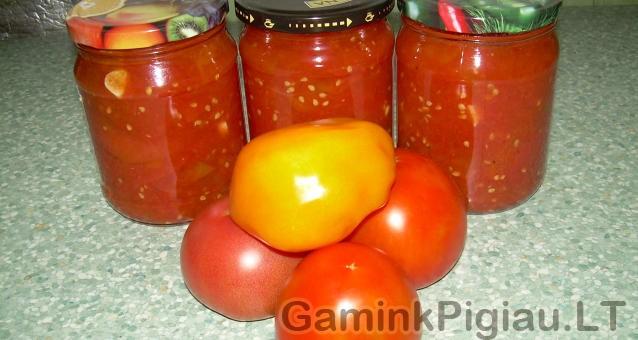 Pomidorų tyrė
