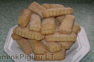 Sluoksniuotos tešlos sausainiai