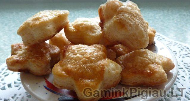 Alaus tešlos sausainiai
