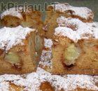 Obuolių pyragas pagal senovinį receptą