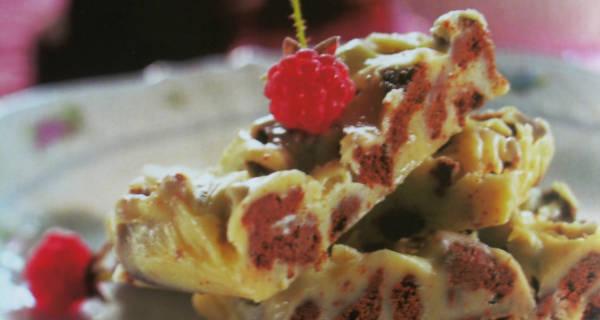 Baltojo šokolado pyragėliai