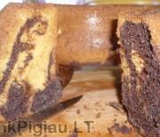 Dvispalvis keksas