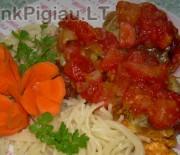 Mėsos kukulaičiai su mocarelos sūriu