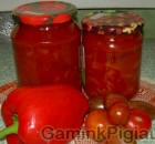 Paprika pomidorų sultyse