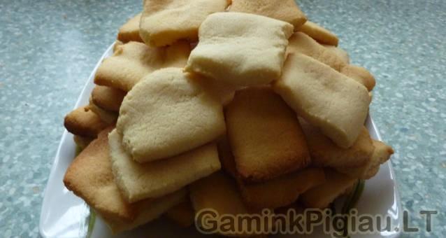 Ryžių miltų sausainiai
