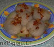 Tarkuotų bulvių bandelės