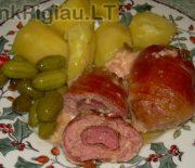 Mėsos maltinukai su įdaru