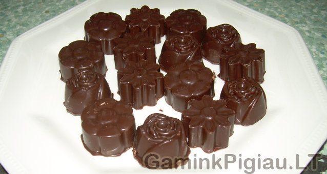 Džiovintos slyvos šokolade
