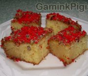 """Turkiškas pyragas """"Revani"""""""