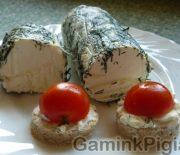 Naminė sūrio užtepėlė
